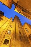 Azzoguidi Tower in Bologna Stock Photo