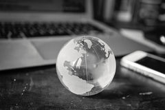 Azzurri globali Fotografia Stock Libera da Diritti