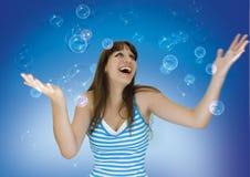 Azzurro 1 Immagini Stock Libere da Diritti