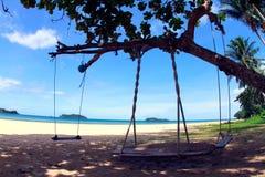 Azzurro 8 della spiaggia Fotografie Stock Libere da Diritti