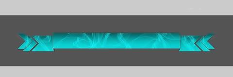 Azzurro affumicato dell'intestazione Fotografie Stock Libere da Diritti