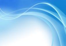 Azzurro astratto illustrazione di stock