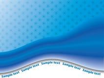 Azzurro astratto 3 Fotografie Stock
