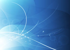 Azzurro astratto della carta da parati della priorità bassa Immagine Stock