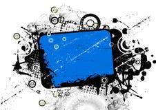 Azzurro astratto della priorità bassa Fotografia Stock Libera da Diritti