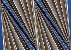 Azzurro astratto e Gray della costruzione Fotografie Stock Libere da Diritti