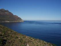 Azzurro - baia di Hout, Città del Capo Fotografia Stock