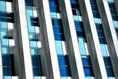 Azzurro & bianco Immagini Stock