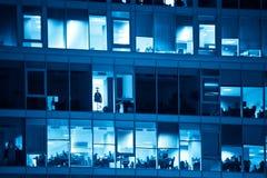 Azzurro degli uffici modificato immagini stock libere da diritti