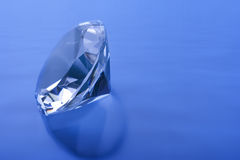 Azzurro del diamante Fotografia Stock