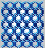 Azzurro del reticolo Immagini Stock Libere da Diritti
