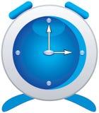 Azzurro dell'orologio Immagine Stock Libera da Diritti