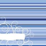 Azzurro della banda di inverno Fotografia Stock