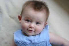 Azzurro di bambino Fotografia Stock
