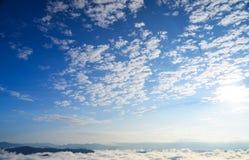 Azzurro di cielo Immagini Stock Libere da Diritti