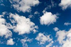 Azzurro di cielo Immagini Stock