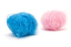 Azzurro di colore rosa di bambino N Fotografia Stock