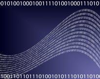 Azzurro di dati illustrazione di stock