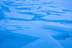 Azzurro di ghiaccio Fotografie Stock Libere da Diritti