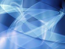 Azzurro di incandescenza della traccia illustrazione di stock