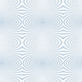 Azzurro di semitono del fuoco molle psichedelico Immagini Stock Libere da Diritti