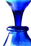 Azzurro di versamento Immagine Stock