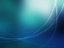 Azzurro ed estratto Fotografie Stock Libere da Diritti