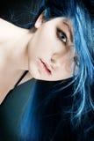 Azzurro elettrico fotografia stock libera da diritti