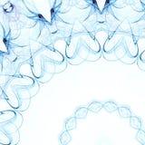 Azzurro floreale Fotografie Stock