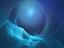 Azzurro liscio Fotografia Stock Libera da Diritti