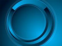 Azzurro moderno di notizie Immagine Stock Libera da Diritti