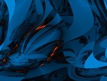 Azzurro profondo illustrazione vettoriale