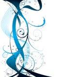 Azzurro supplementare di flusso Immagini Stock