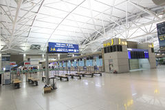 Aéroport international d'Incheon Photo stock
