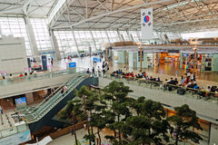 Aéroport international d'Incheon (Séoul, Corée) Photos stock