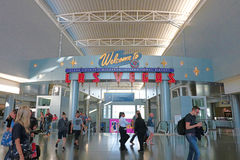 Aéroport international de McCarran à Las Vegas Photo stock