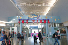 Aéroport international de McCarran à Las Vegas Photos stock