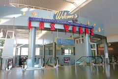 Aéroport international de McCarran à Las Vegas Image libre de droits