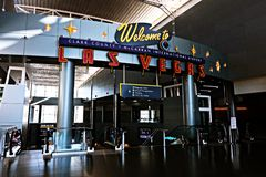 Aéroport international de McCarran à Las Vegas nanovolt Image stock