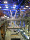 Aéroport international de Suvarnabhumi, Bangkok, Thaïlande Image stock