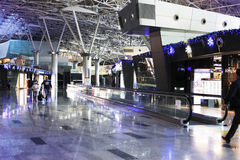 Aéroport international de Vnukovo Photos libres de droits