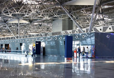 Aéroport international de Vnukovo Image stock