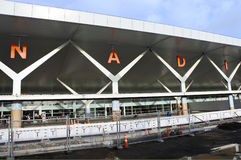Aéroport international Fidji de Nadi Photographie stock