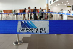 Aéroport international Fidji de Nadi Photos libres de droits