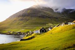 Bøur, a traditional village in the Faroe Islands