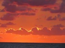 Báltico, mar, puesta del sol, salida del sol, ayuda del drenaje, DI fotos de archivo libres de regalías