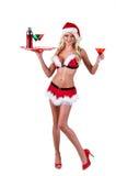 Bárman do Natal Imagens de Stock