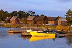 Bâteaux de pêche Photographie stock libre de droits