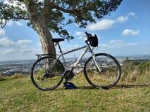 Bâti Éden de bicyclette photo stock