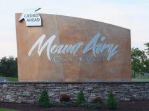 Bâti Airy Casino Resort dans le bâti Pocono, Pennsylvanie Images libres de droits